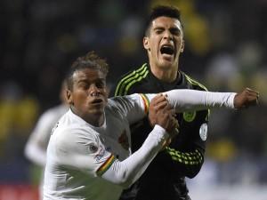 """Dos jugadores de México y Bolivia en la """"Copa América Chile 2015"""""""