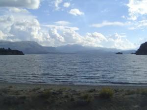 Lago Aluminé (provincia del Neuquén, Argentina)