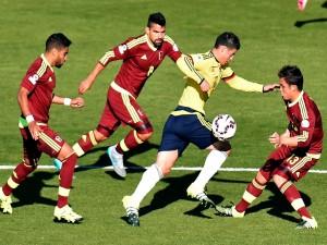 """Partido de Colombia contra Venezuela (0-1) """"Copa América Chile 2015"""""""