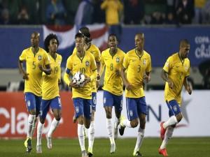 """Jugadores de la Selección Brasileña de Fútbol en la """"Copa América Chile 2015"""""""