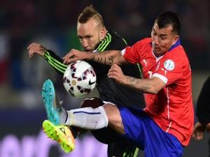"""Chile y México empate (3-3) en el partido de la """"Copa América Chile 2015"""""""