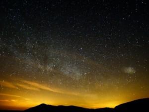 Estrellas al amanecer