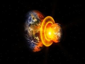 Explosión en un planeta