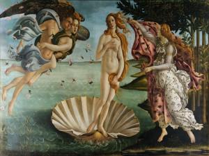 El nacimiento de Venus (Sandro Botticelli)