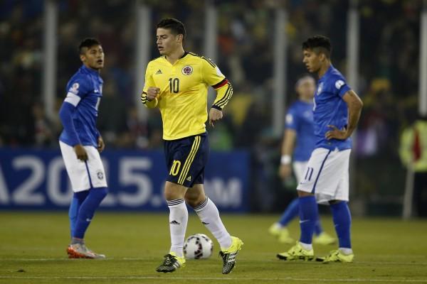 "Colombia gana a Brasil (1-0) en la ""Copa América Chile 2015"""