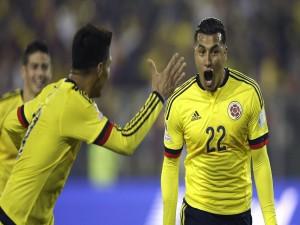 "Gol de Murillo (Colombia) a Brasil ""Copa América Chile 2015"""