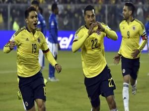 "El colombiano Jeison Murillo tras meter un gol a Brasil ""Copa América 2015"""