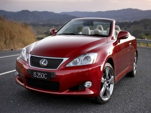 Lexus IS 250C Convertible