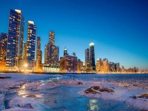 Invierno en Chicago