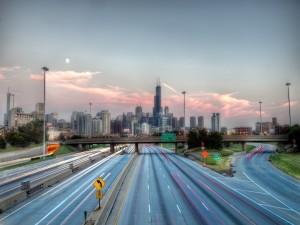 Carretera hacia Chicago