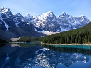 Lago Moraine (Parque Nacional Banff, Canadá)