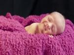 Bebé durmiendo plácidamente