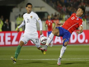 "Chile vence a Bolivia (5-0) en la ""Copa América Chile 2015"""