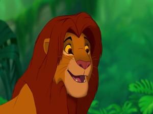 Simba con melena (El Rey León)