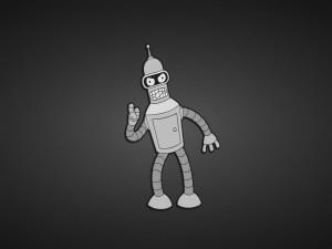 """Bender, el robot de """"Futurama"""""""