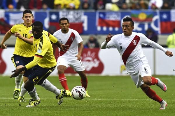 """Colombia empata con Perú (0-0) en la """"Copa América 2015"""""""