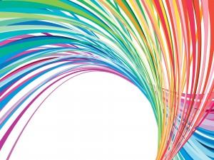 Líneas arcoíris