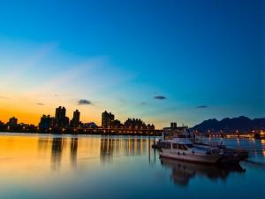 Amanecer en Taipéi