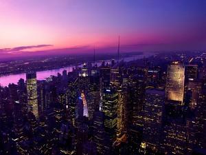 Crepúsculo en Nueva York