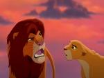Simba y Nala adultos (El Rey León)