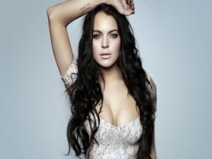 Lindsay Lohan morena