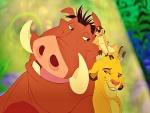 Pumba, Timón y Simba (El Rey León)