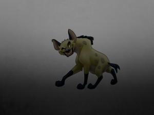"""Banzai, una de las hienas de """"El Rey León"""""""