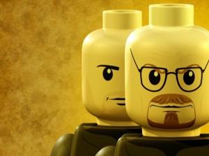 Muñecos de lego de Walter White y Jesse Pinkman (Breaking Bad)