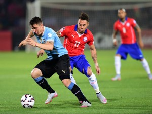 "Chile gana a Uruguay (1-0) en cuartos de final ""Copa América Chile 2015"""