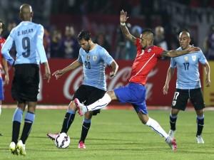 """Partido de cuartos de final entre Chile y Uruguay """"Copa América Chile 2015"""""""