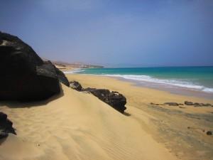 Playa de Sotavento (Fuerteventura, Canarias)