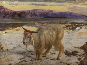 The Scapegoat,  pintura de William Holman Hunt