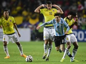 """Argentina gana a Colombia (5-4) en los penales de cuartos de final """"Copa América 2015"""""""