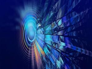 Círculos y líneas digitales