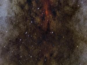 Imagen captada por el telescopio VISTA