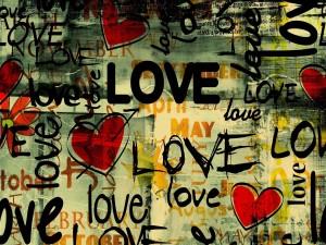 Love y corazones