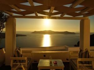 Balcón con vistas al mar