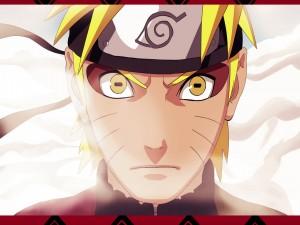 Naruto usando el modo Sennin