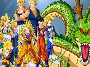 "Personajes de la serie anime ""Dragon Ball Z"""