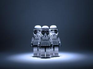 Soldados imperiales de Lego