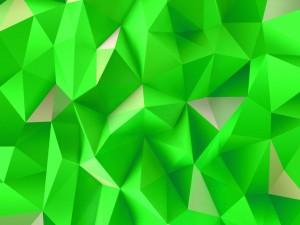 Triángulos verdes