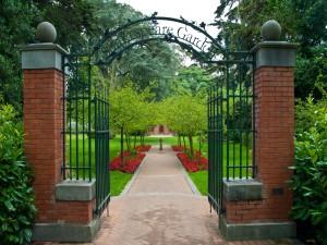 Entrada al jardín de Shakespeare
