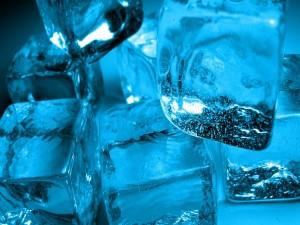 Unos refrescantes cubitos de hielo