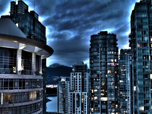 Edificios de una ciudad