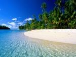 Playa de aguas claras