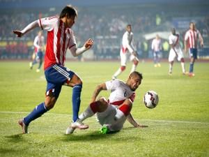 """Perú y Paraguay luchando por el tercer puesto de la """"Copa América Chile 2015"""""""