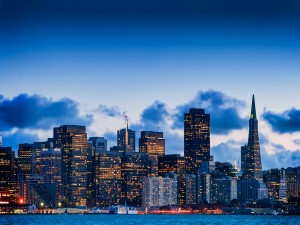 Amanecer en San Francisco