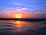 Un hermoso cielo al amanecer