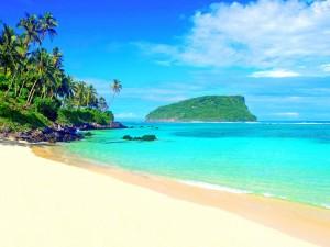 Isleta vista desde la playa