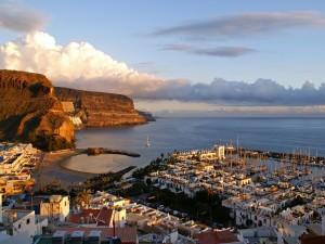 Hermosa vista del Puerto de Mogán (Gran Canaria)